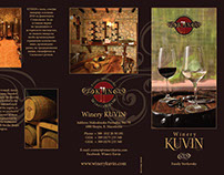 Flyer for KUVIN Wines