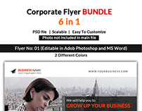 Corporate Flyers Bundle 6 in 1
