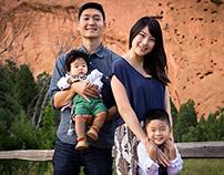 Kim Family Portrait