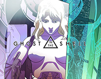 Ghost In The Shell alternative movie poster