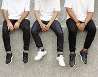 The Three Stripes photoshoot