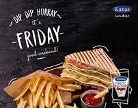 Dip Dip Hurray - It's Friday