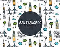 San Francisco Vector Free Pattern