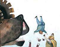 """Children's book""""The Tinderbox"""", H. C. Andersen"""