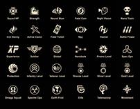 Sci-fi Icon Design
