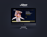 UI/UX Design &front end by me. Signed @ Atma