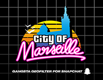SNAPCHAT GEOFILTER - CITY OF MARSEILLE