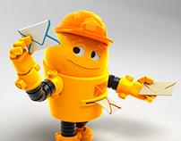 MailBot - 3D character
