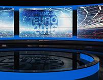 EURO 2016 VIRTUAL SET for TV REPUBLIKA