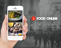 Food Online Order iPhone App