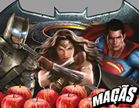 Maçãs Batman v Superman | Dois Cunhados
