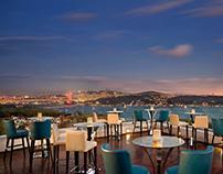 Conrad Istanbul Bosphorus Hotel Photography