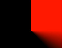 Red Sweep Black Square