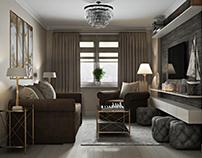 Гостиная комната -Living room (Saints Petersburg)
