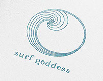 Brand Identity : Women's Surf & Yoga Retreat