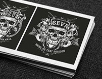 SEVI rock band - Logo and Hoody design
