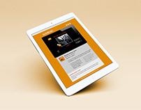 Diseño de newsletter iLUBUC