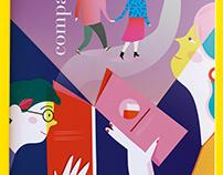 Ilustración Las Bibliotecas