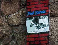 Z-Flex Custom Skate Deck: Rider Pat Bareis