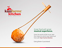 Social Media Advertising For Kazi Farms Kitchen
