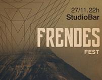 FrendesFestival - Poster Design