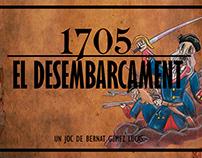 1705 El desembarcament illustrations