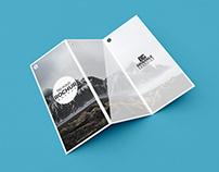 Free Modern Tri-Fold Brochure Mockup