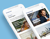 STANDARD LIFE // REDESIGN WEBSITE