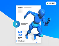 Auro Fit UI Redesign
