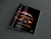 Infinity print AD