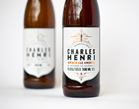 Bière Charles Henri / Packaging