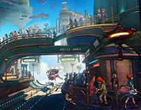 Skydock Station concept