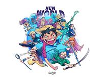 One Piece - New Wold Saga