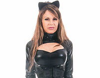 Charlie Kristine Catwoman