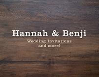 Hannah & Benji's Wedding