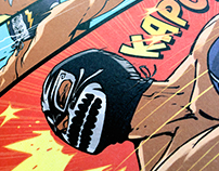 The Mighty Luchador Comic