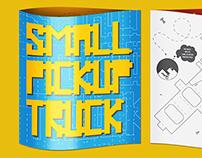Small Pickup Truck. Okido Magazine. UAL 2014