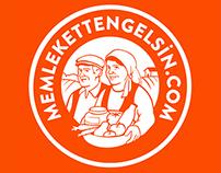 Memlekettengelsin Logo Illustration / Character Design