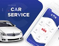 Car Service UI/UX mobile App