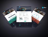 Tortuga Capital - LandingPage based on Wordpress CMS