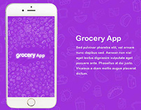 Grocery App UI