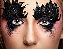 Art makeup.