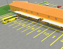 Recorrido Virtual 3D Terminal de Transportes