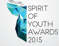 Spirit of Youth Awards Logo Competition Winning Entry.