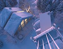 Samsung - Santa Left Behind - CGI & Photoshop BTS