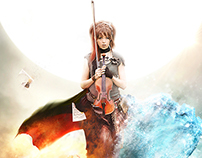 LINDSEY STIRLING - Elements Poster