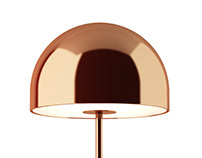 3d model: Bell Table Lamp Copper by Tom Dixon