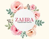 Zahra Serif Typeface (+ Free Demo)