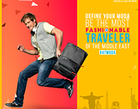 American Tourister - Fashionable Traveller Campaign