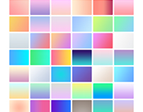 Web Gradients For Multipurpose use including PSD